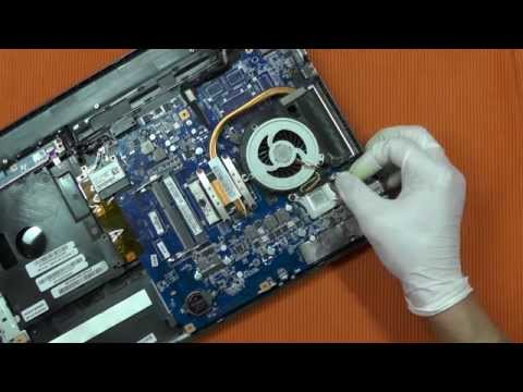 Sony Vaio Laptop Change Mainboard E Series svE15xxxx Repair Touchpad