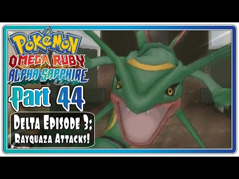Pokemon Omega Ruby and Alpha Sapphire - Part 44: Delta Episode 4! (FaceCam)