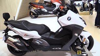 2016 BMW C650 Sport Scooter - Walkaround - 2015 Salon de la Moto Paris