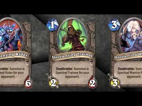All Hearthstone Not Collectible Cards Sounds (Normal & Naxxramas)