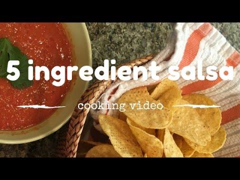 5 Ingredient Chipotle Salsa
