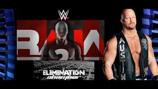 NEW ELIMINATION CHAMBER Structure TOP RAW WWE STAR RETURNS! Steve Austin WrestleMania 34 Comeback