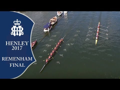Remenham Final - Leander & U. London v Waiariki | Henley 2017