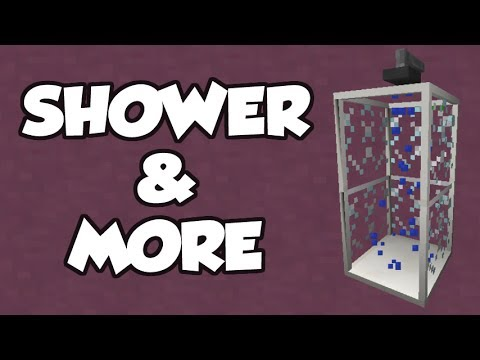 MrCrayfish's Furniture Mod Update #22 - Showers + More Features!