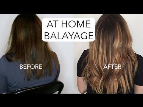 HOW TO: DIY BALAYAGE - DARK HAIR