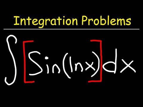 Integral of Sin(lnx)