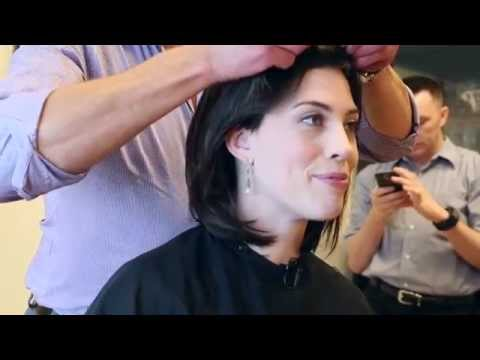 The Wigging: Breast cancer patient shaves head before chemo hair loss