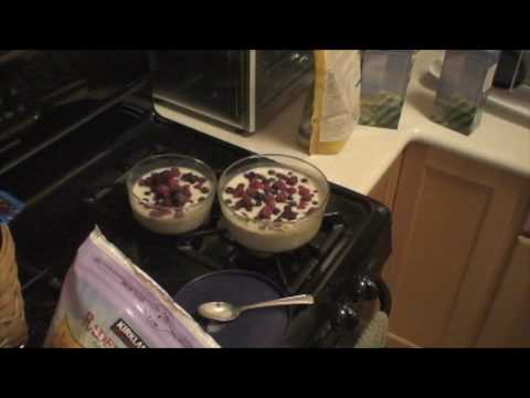 Microwave Cooking Steel Cut Oatmeal - Part 2