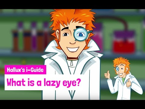What is a lazy eye?