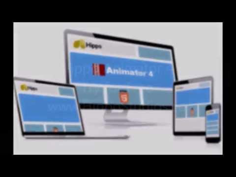 Create HTML Animation, Games & Apps - Hippo Animator Showreel 2015