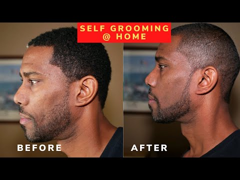 How To Keep Your Haircut And Beard Trimmed Perfectly | Cut Buddy Hairline Tool
