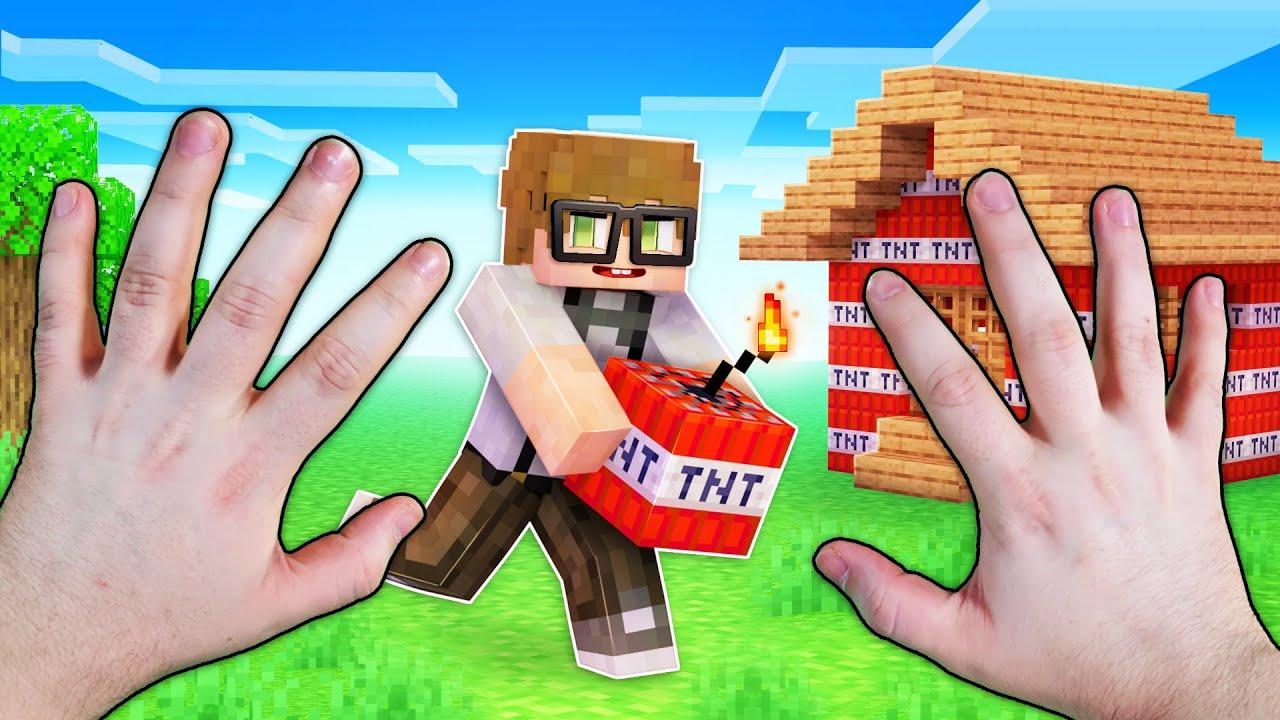 Realistic Minecraft - THE PRANK BATTLE!