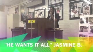 Jasmine B at CMBC Green Leaf Tea