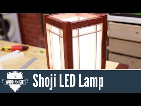 109 - Shoji LED Lamp