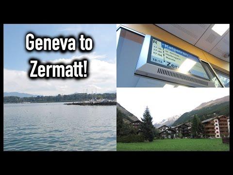 Geneva to Zermatt! 09/13
