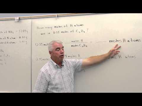 Mole & Molecular Formulas