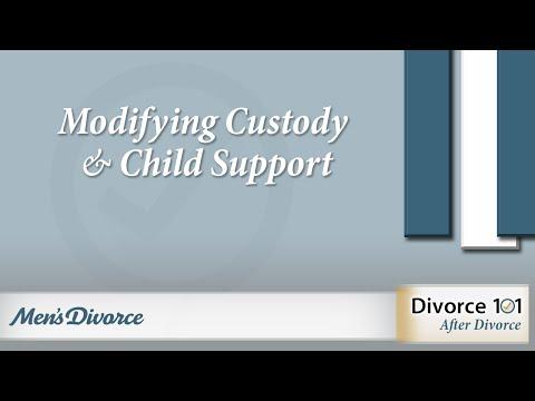 Modifying Custody Child Support