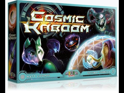 Cosmic Kaboom - Unfiltered Gamer Kickstarter Board Game Review