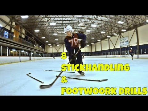 8 Drills to Improve Footwork and Stickhandling.