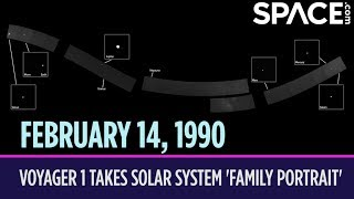 OTD in Space – February 14: Voyager 1 Takes Solar System