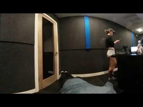 GTA and DJ HAPA doing warm up Push ups in Studio
