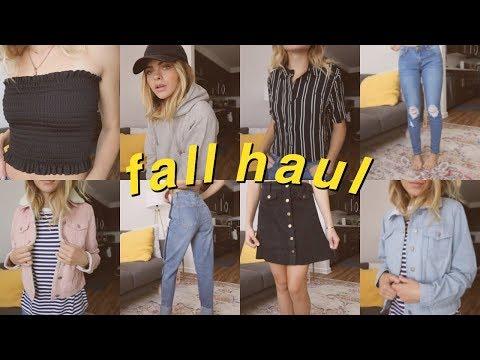 FALL HAUL!//Clothing, Candles, Makeup   Summer Mckeen