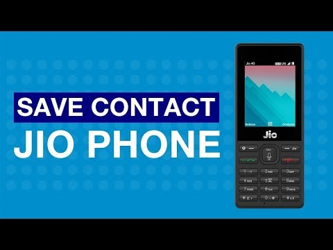 JioCare - How to Save Contact on JioPhone (Punjabi) | Reliance Jio