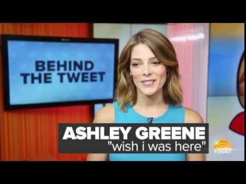 Ashley Greene Explains Furry Feet Tweet -Today Show [Behind The Tweet]