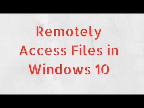 How to Remotely Access Files using OneDrive in Windows 10