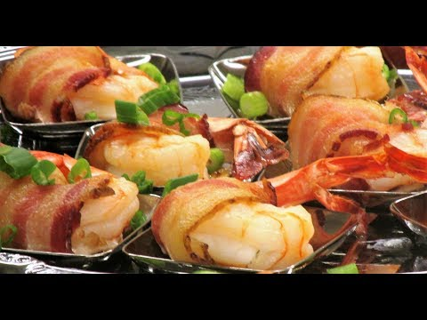 How to Make Bacon Wrapped Shrimp | It's Only Food w/Chef John Politte