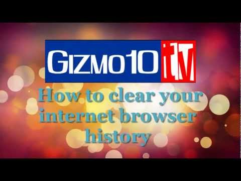 How to clear your internet browser history (Browser and CCleaner)