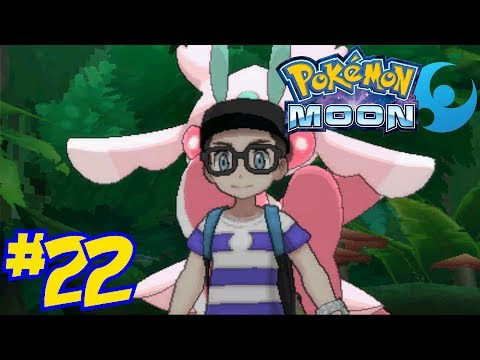 Pokémon Moon Episode 22 - The Lush Jungle Trial