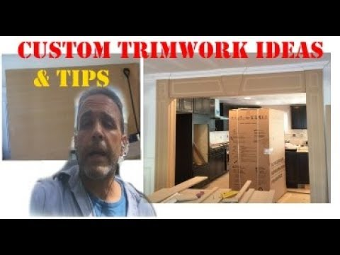 DIY Addition. How to install trimwork to a room addition on a budget.