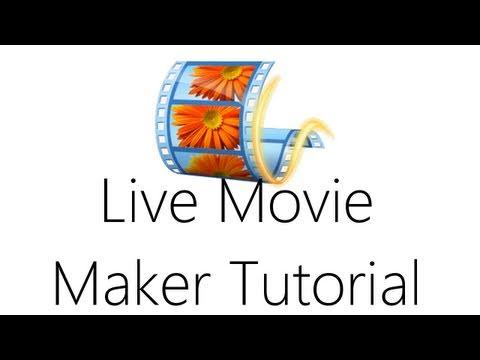 Windows Live Movie Maker Video Editing Tutorial