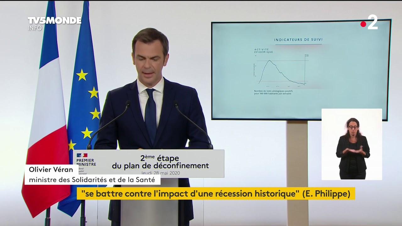 🔴 Coronavirus / COVID19 : Edouard Philippe précise la deuxième phase du déconfinement en France