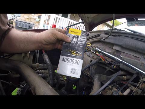 serpentine belt change 2001 ford f150