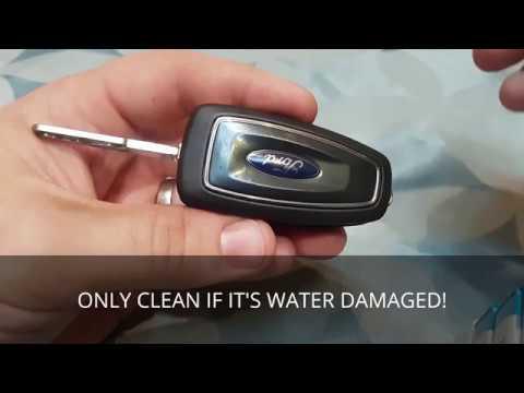 Key Battery change Ford Ranger