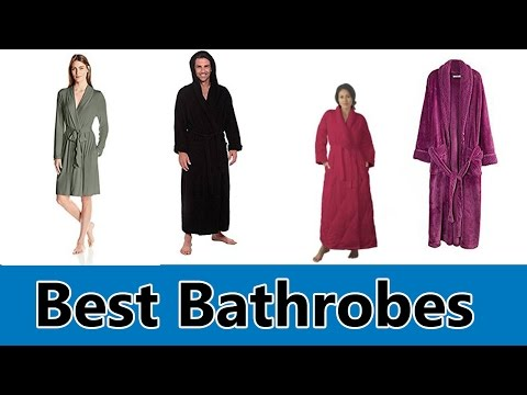 Best Bathrobes 2017 - Top 5 Best Bathrobes Review