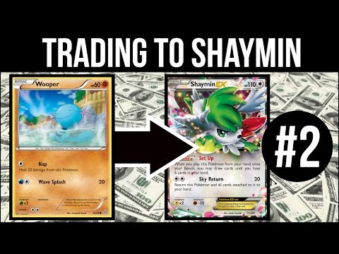Trading To Shaymin #2 | Getting Serious | Pokemon Trading Card Game Online