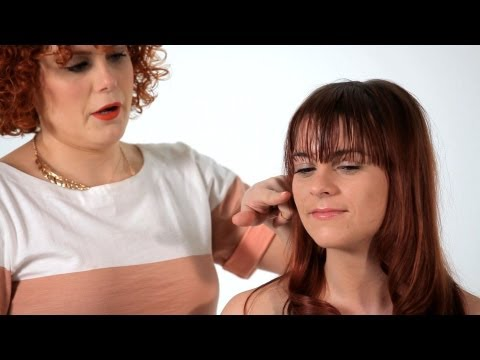How to Style Side-Swept Bangs | Hair Tutorials