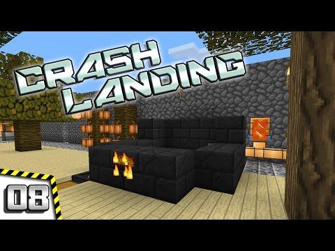 Minecraft Crash Landing - #08 - Upgrading the Smeltery