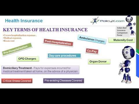 Health Insurance - Key Terminology of Health Plans | PolicyX.com