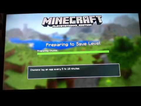 Join my minecraft ps3