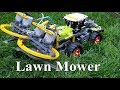 Lawn Mower  - Lego Technic 42054 Claas Xerion 5000 Trac VC