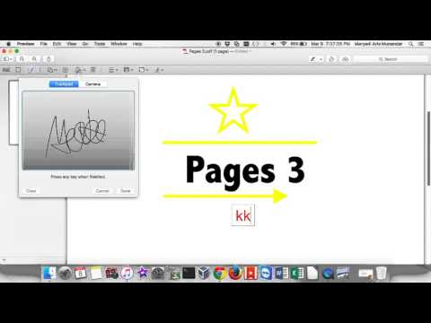 Features/Work PDF Files Use Application Preview On MAC OS X