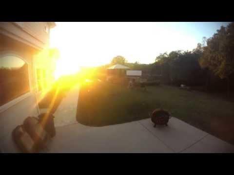 Backyard Movie Night Party Time Lapse
