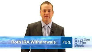 Roth Ira Contribution Withdrawal Rules
