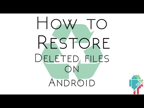 How to Restore a Deleted File on Android | AndroTrix