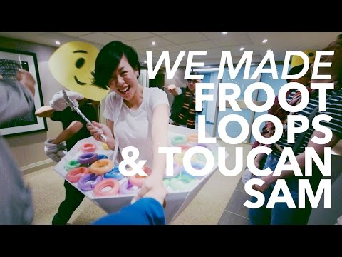 What we made for Halloween: FROOT LOOPS + TOUCAN SAM | WITHWENDY