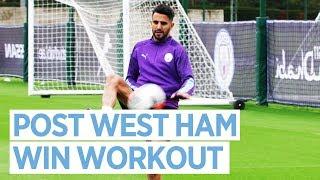 POST WEST HAM 5-0 TRAINING! | West Ham 0-5 City
